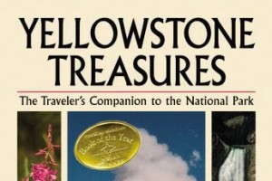 Yellowstone Treasures 1st edition cover with award
