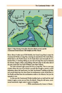 continental divide map explanation