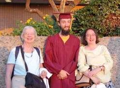 Janet Zeno and Beth in Arizona