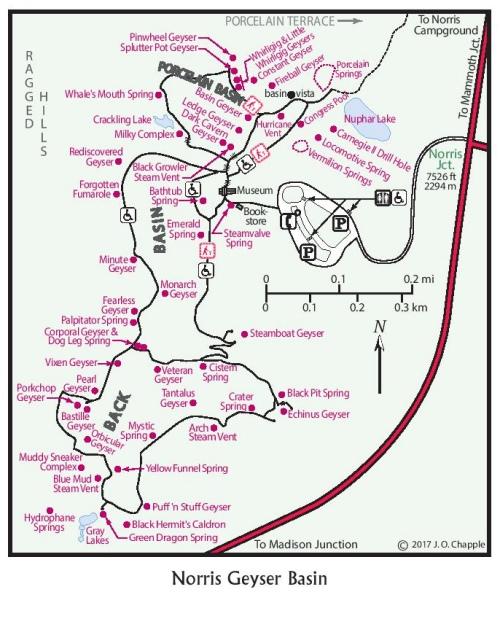 Norris Geyser Basin – Yellowstone Treasures