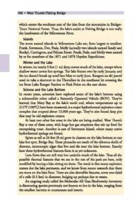 Yellowstone Lake sidebar page 146