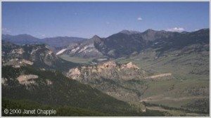 Chief Joseph Highway summit view