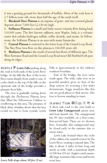 Eight Plateaus sidebar page 131