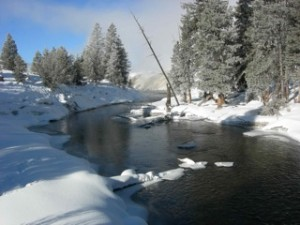 Firehole River from bridge