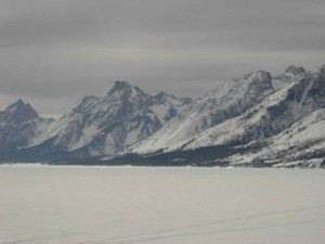 Jackson Lake in winter
