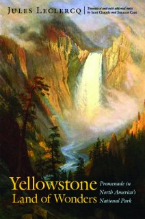 Yellowstone Land of Wonders book cover