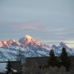 Tetons from Spring Creek Ranch