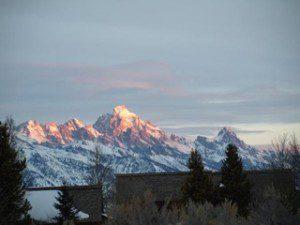 Tetons from Spring Creek Ranch