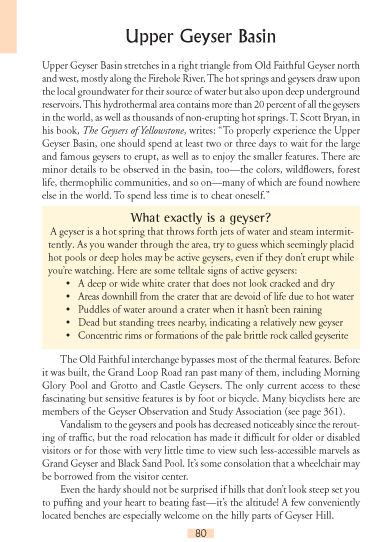 Upper Geyser Basin page 80