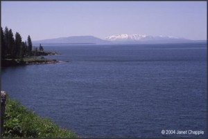 Yellowstone Lake from Park Point