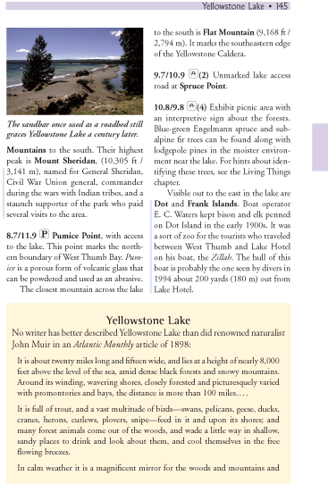 Yellowstone Treasures page 145