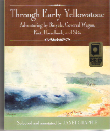 Through Early Yellowstone cover with award sticker