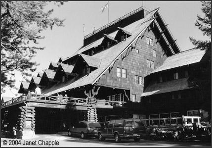 Old Faithful Inn photo by Leslie Kilduff