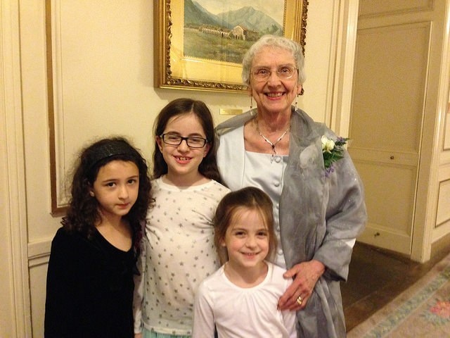 grandmother granddaughters