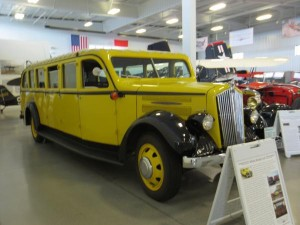 1937 Yellowstone Bus Everett Washington