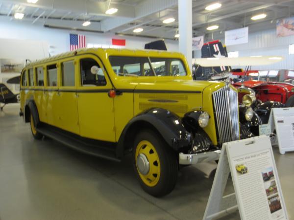 1937 Yellowstone Bus Everett Washington