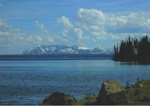 Yellowstone Lake Mount Sheridan
