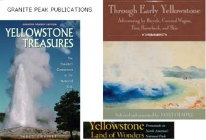 Yellowstone book covers