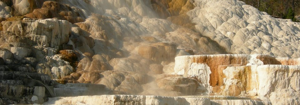 Palette Spring terrace Yellowstone