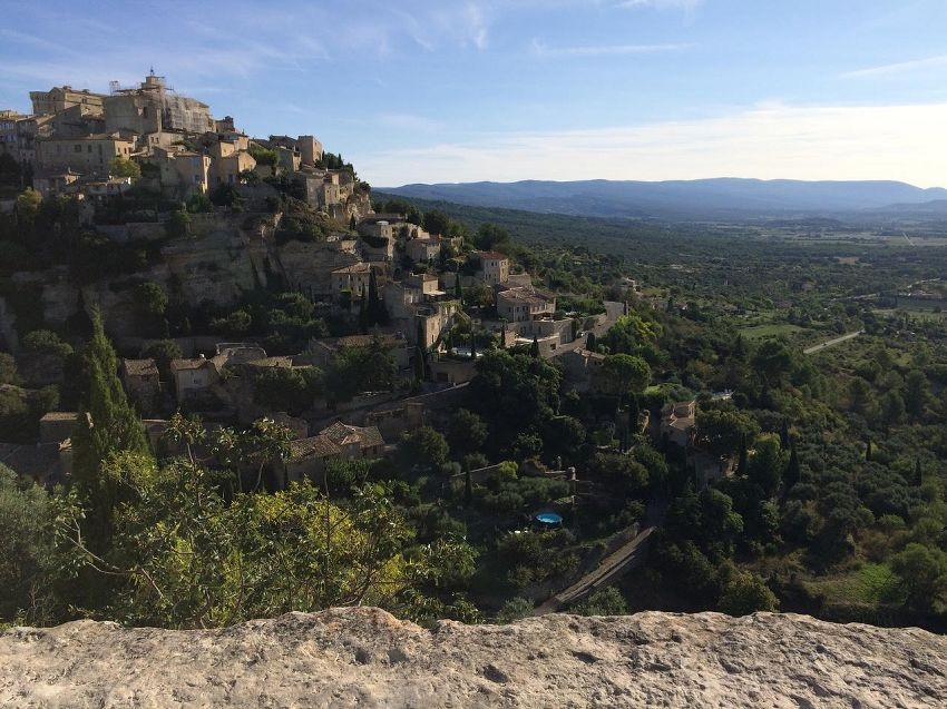 View of Gordes France