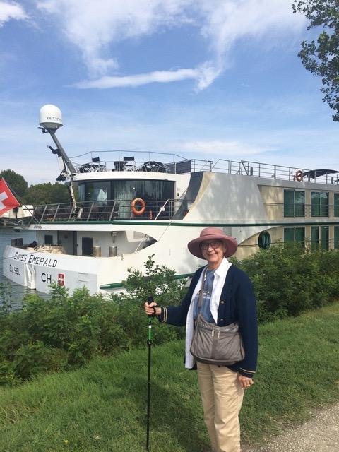 Swiss river ship