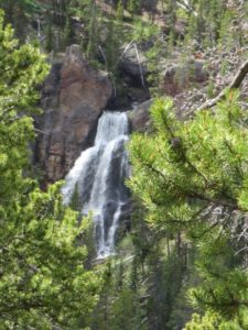 Crystal Falls Yellowstone