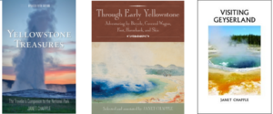 Yellowstone books Granite Peak Publications