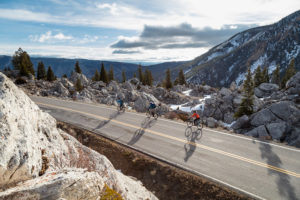 spring cycling Yellowstone