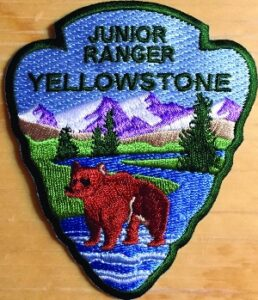 Yellowstone Junior Ranger patch